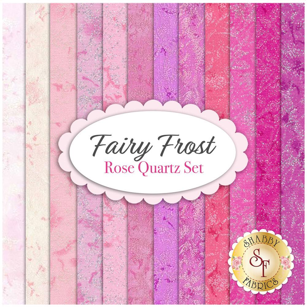 Fairy Frost  12 FQ Set - Pink Set by Michael Miller Fabrics | Shabby Fabrics