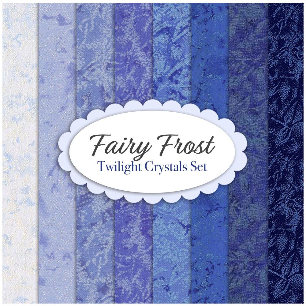 Fairy Frost  8 FQ Set - Blue Set by Michael Miller Fabrics | Shabby Fabrics