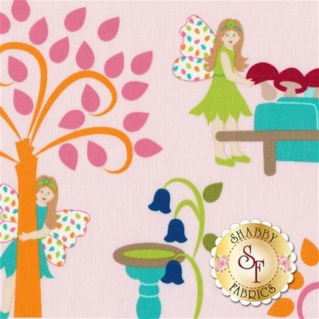Fairy Tales 2815-3 by Rachael Wright & Christine Sharp for RJR Fabrics