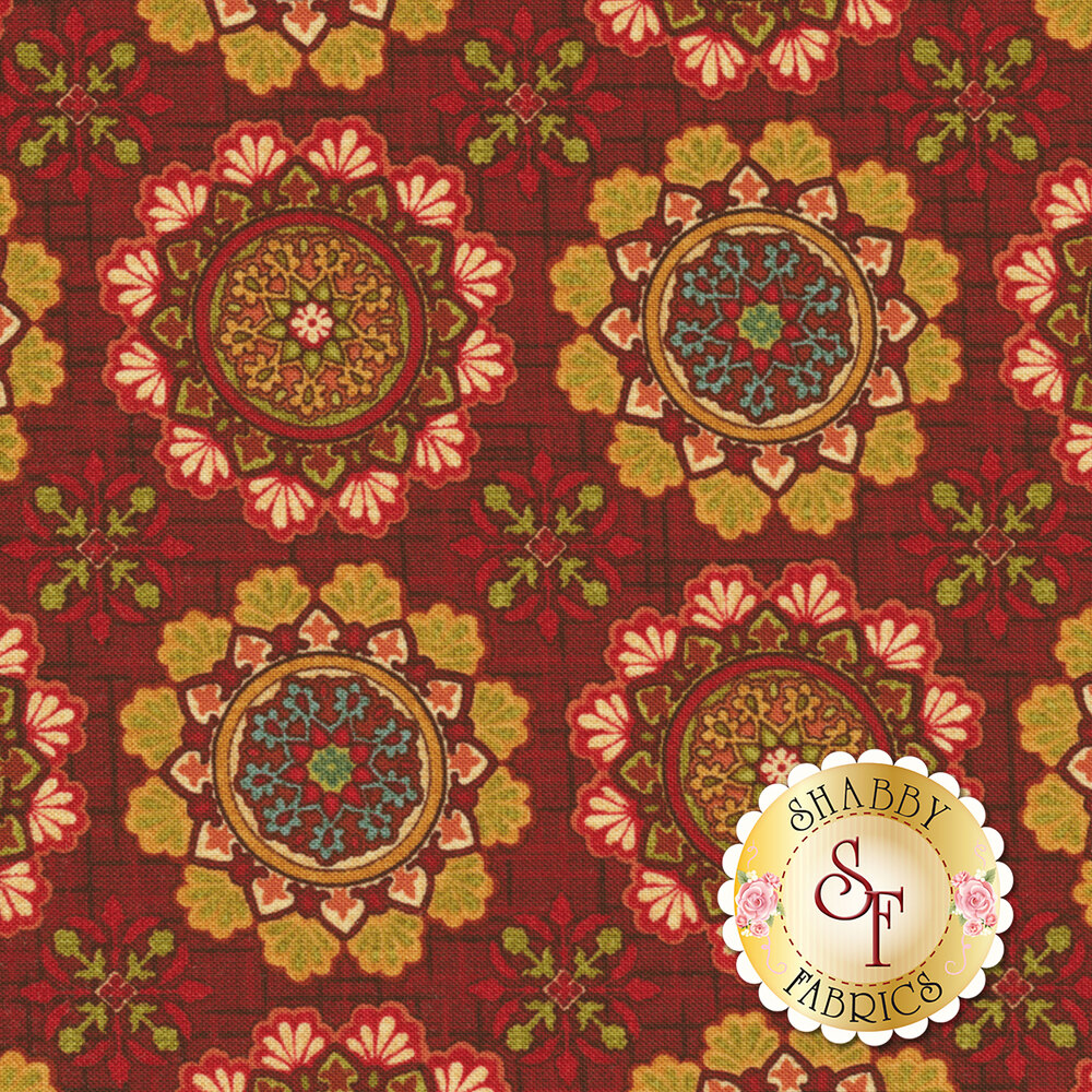 Fall Festival 4261-35 Medallions for Studio E Fabrics