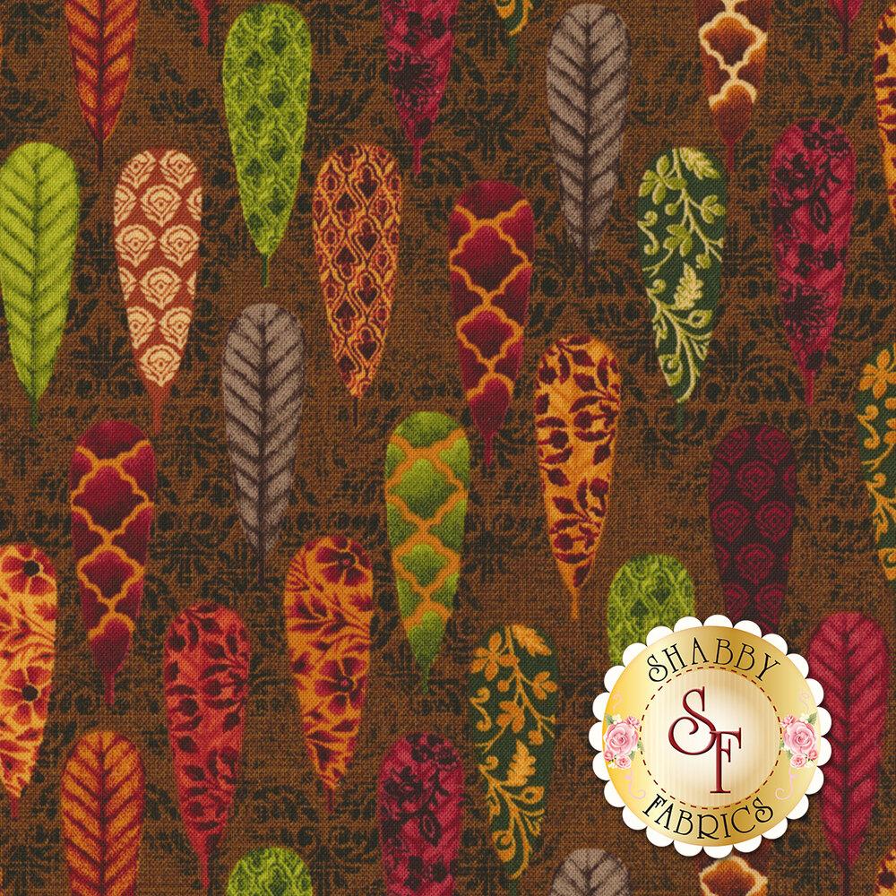 Fall Festival 4262-38 Feathers by Studio E Fabrics