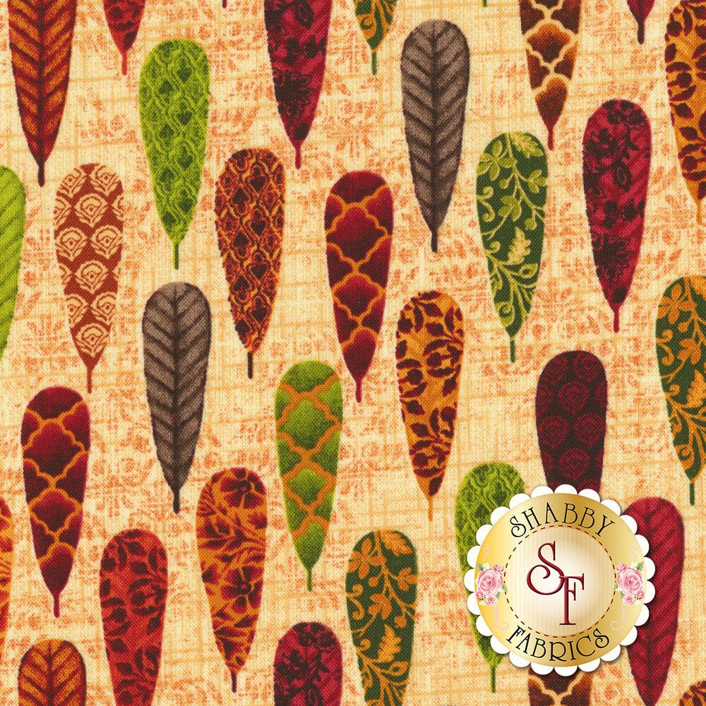 Fall Festival 4262-44 Feathers for Studio E Fabrics