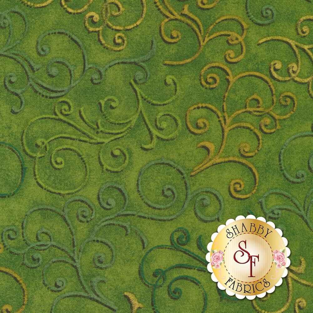 Fall Festival 4263-66 Scrolls for Studio E Fabrics