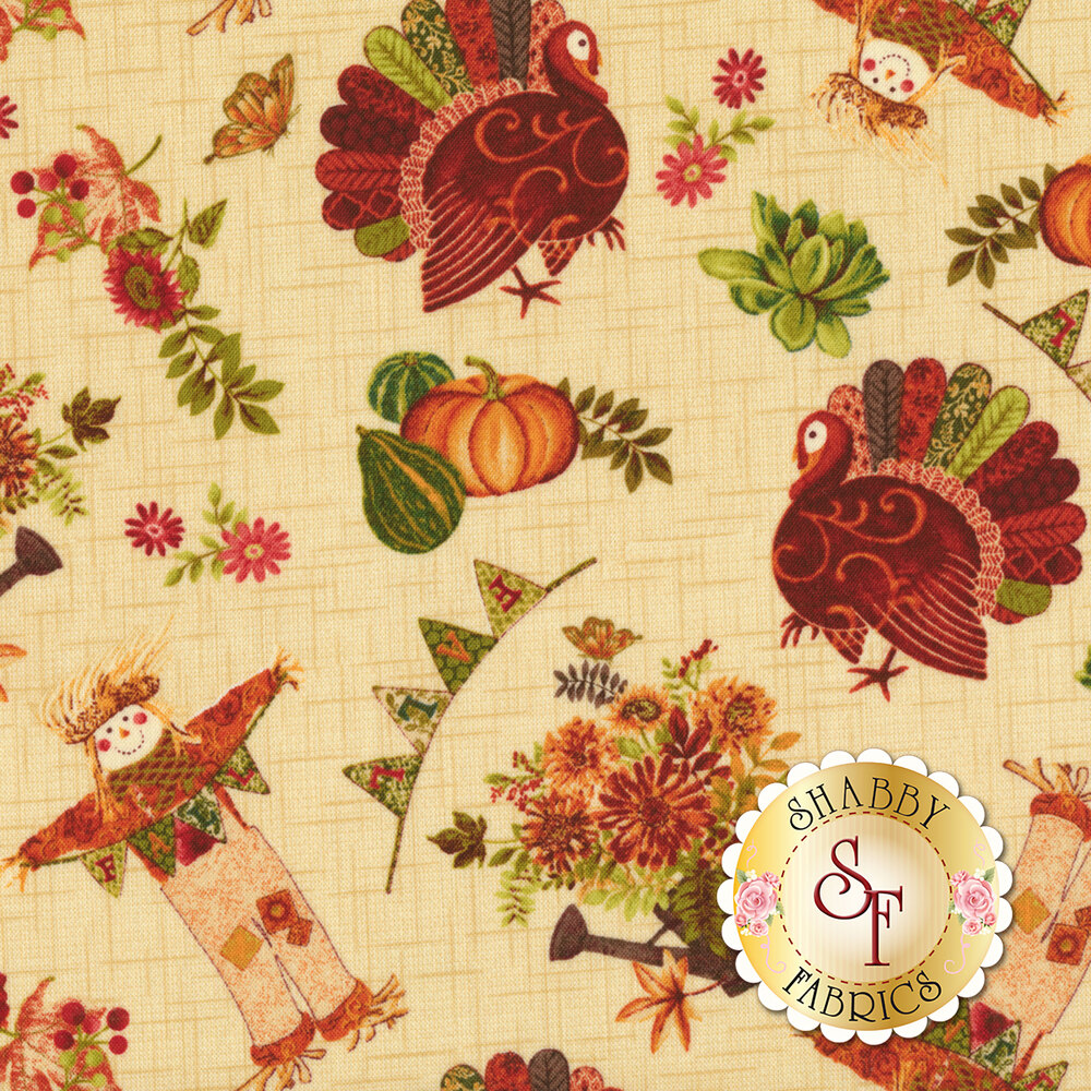 Fall Festival 4265-44 Novelty Toss by Studio E Fabrics