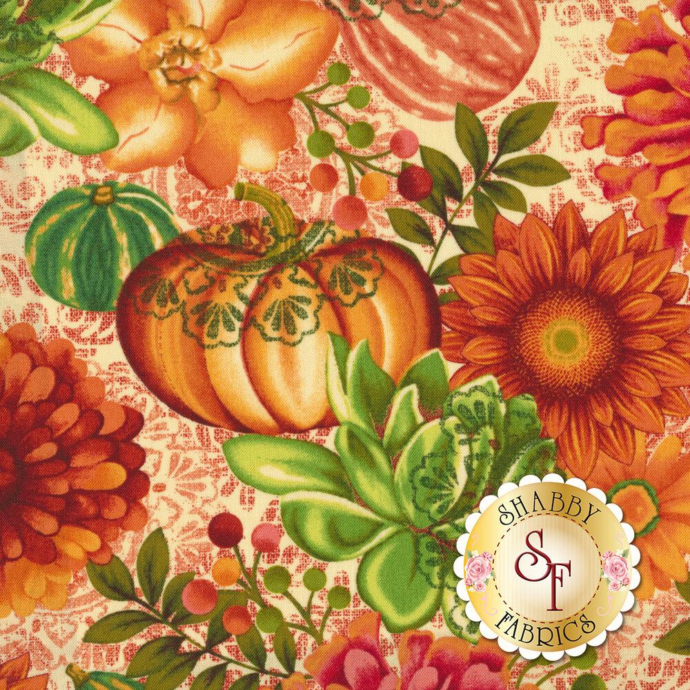 Fall Festival 4266-44 Flowers by Studio E Fabrics