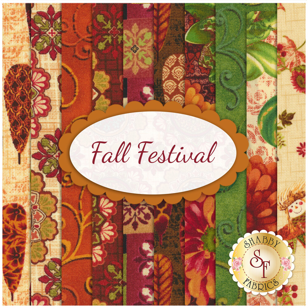 Fall Festival  10 FQ Set by Studio E Fabrics
