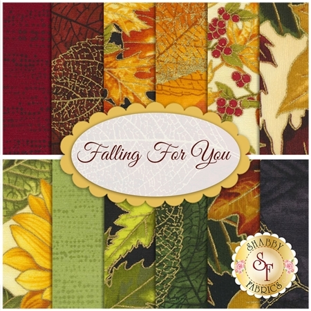 Falling For You  12 FQ Set by Hoffman Fabrics