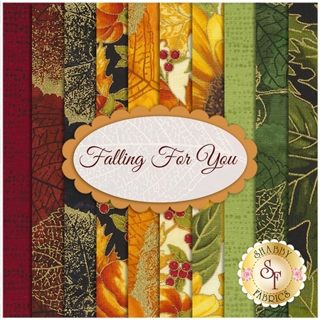 Falling For You  10 FQ Set by Hoffman Fabrics