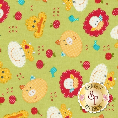 Farm Friends 61280-6 by Lucy A. Fazely for Exclusively Quilters Fabrics