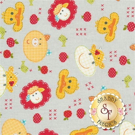 Farm Friends 61280-85 by Lucy A. Fazely for Exclusively Quilters Fabrics