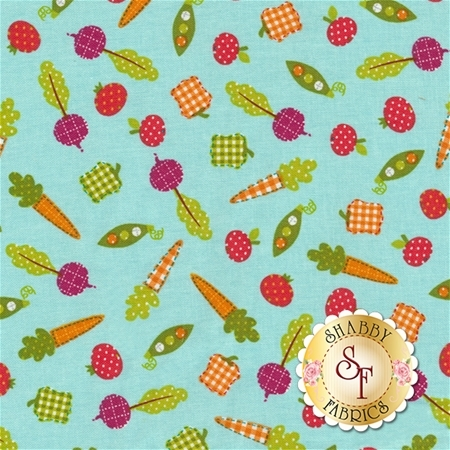 Farm Friends 61281-5 by Lucy A. Fazely for Exclusively Quilters Fabrics