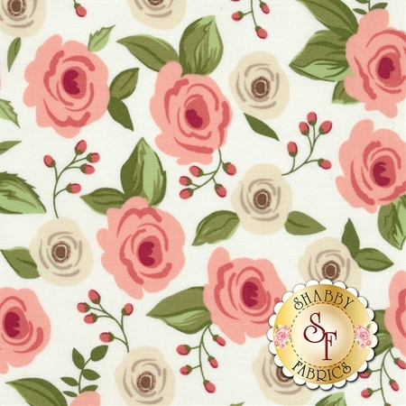 Farmer's Daughter 5050-11 Vanilla by Lella Boutique for Moda Fabrics