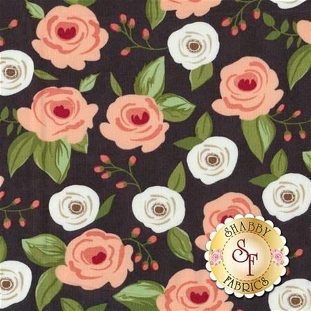 Farmer's Daughter 5050-12 Charcoal by Lella Boutique for Moda Fabrics