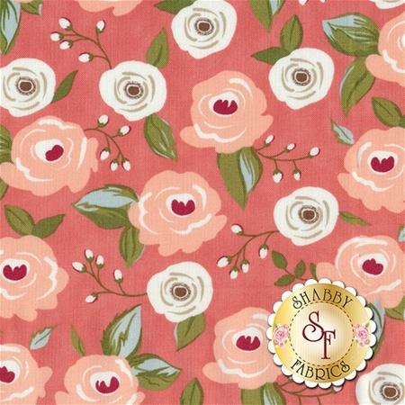 Farmer's Daughter 5050-17 Pink Lemonade by Lella Boutique for Moda Fabrics