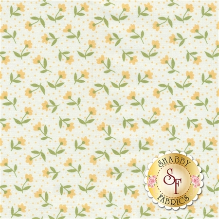 Farmer's Daughter 5051-21 Vanilla Yellow by Lella Boutique for Moda Fabrics