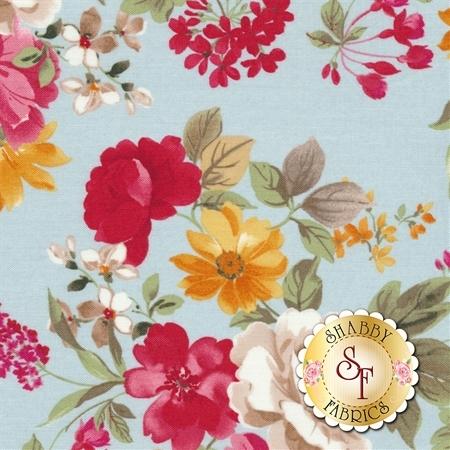 Farmhouse Floral C6880-BLUE by Riley Blake Designs