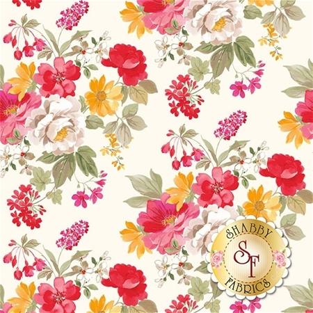 Farmhouse Floral C6880-CREAM by Riley Blake Designs
