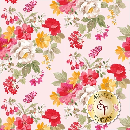 Farmhouse Floral C6880-PINK by Riley Blake Designs