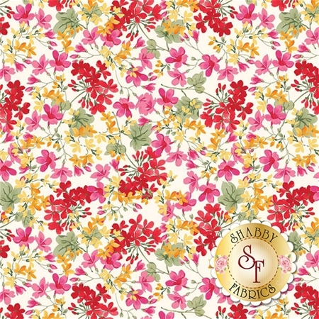 Farmhouse Floral C6881-CREAM by Riley Blake Designs