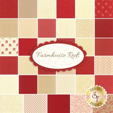 Farmhouse Reds  Yardage by Moda Fabrics