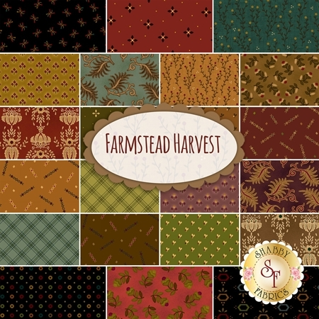 Farmstead Harvest  Yardage by Kim Diehl for Henry Glass Fabrics