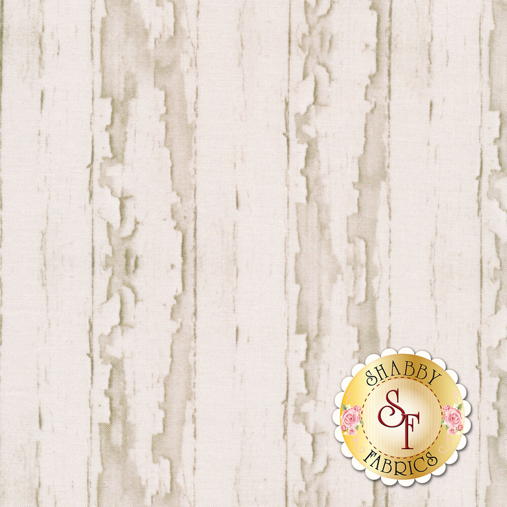 Cracked paint texture on white fabric | Shabby Fabrics