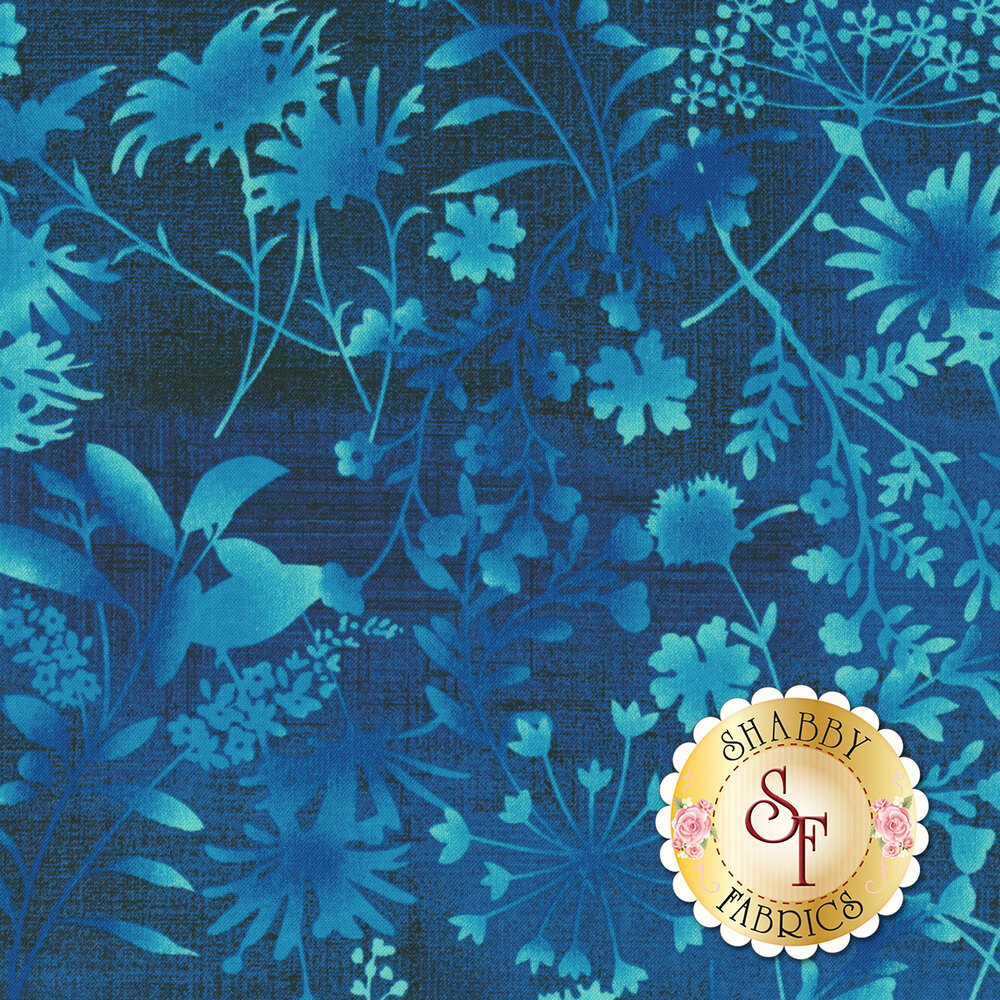 Feather & Flora 4493-77 Wildflower Toss by Studio E Fabrics