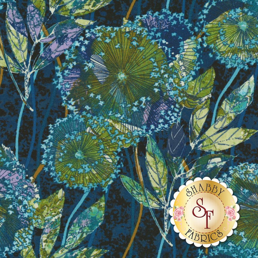 Feather & Flora 4496-77 Dandelion by Studio E Fabrics