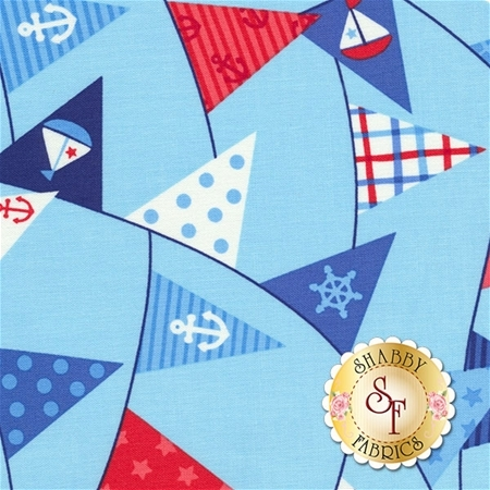 First Mate 21625-44 by Deborah Edwards for Northcott Fabrics