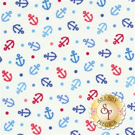 First Mate 21628-10 by Deborah Edwards for Northcott Fabrics