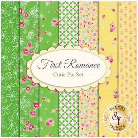 First Romance  7 FQ Set - Cutie Pie Set by Moda Fabrics