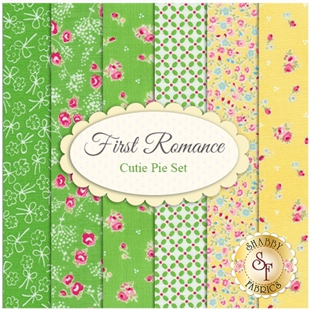First Romance  6 FQ Set - Cutie Pie Set by Moda Fabrics