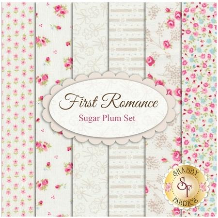 First Romance  6 FQ Set - Sugar Plum Set by Moda Fabrics