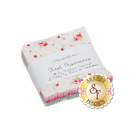 First Romance  Mini Charm Pack by Kristyne Czepuryk for Moda Fabrics