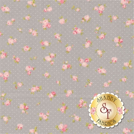 Fleurs 18632-16 Pebble by Brenda Riddle for Moda Fabrics