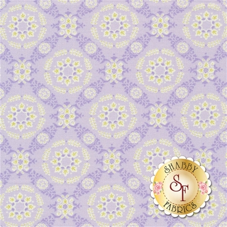 Fleurs 18633-19 Wisteria by Brenda Riddle for Moda Fabrics