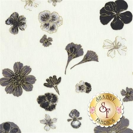 Floral Impressions 8678M-01 by Benartex Fabrics