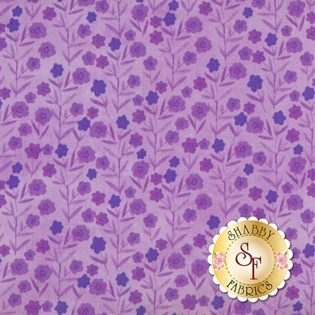 Floral Menagerie 5FMB4 by In The Beginning Fabrics