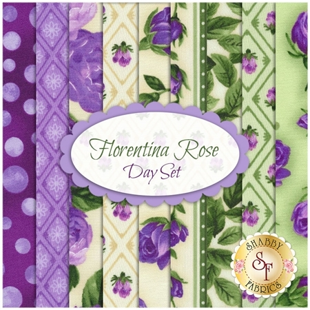 Florentina Rose  9 FQ Set - Day Set by Robert Kaufman Fabrics