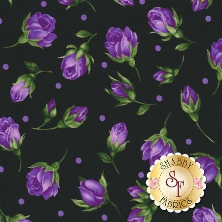 Florentina Rose 17003-22 Violet by Robert Kaufman Fabrics