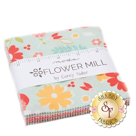 Flower Mill  Charm Pack by Corey Yoder for Moda Fabrics