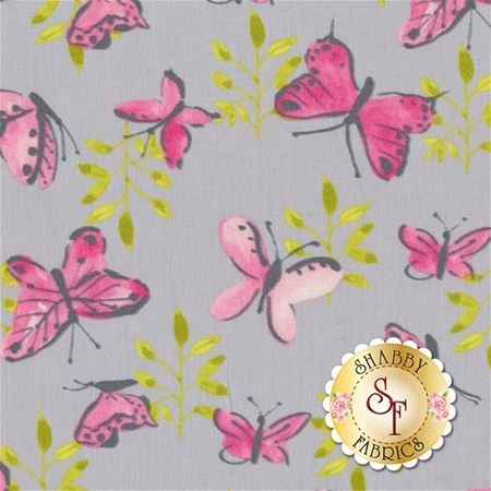 Flutter Y2118-06 by Ellen Crimi-Trent for Clothworks Fabrics