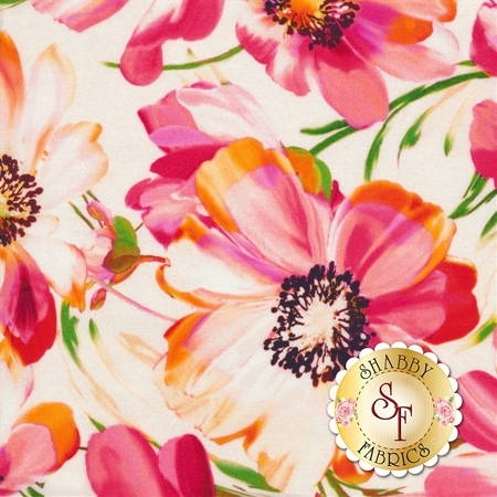 Fluttering By Q4421-474 from Hoffman Fabrics