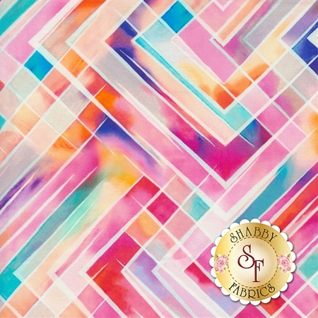 Fluttering By Q4422-474 from Hoffman Fabrics
