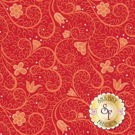 Folk Art Fantasy 3133-10 by Benartex Fabrics