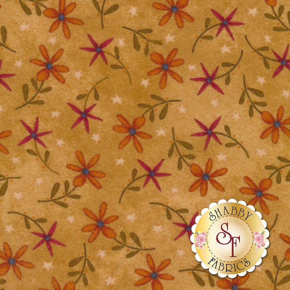 Folk Art Flannel II 2181F-33 by Henry Glass Fabrics available at Shabby Fabrics