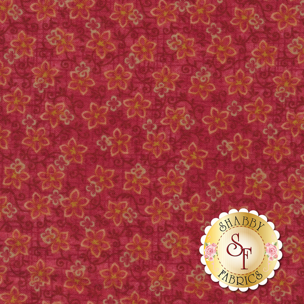 Folk Art Flannel II 2185F-22 by Henry Glass Fabrics available at Shabby Fabrics