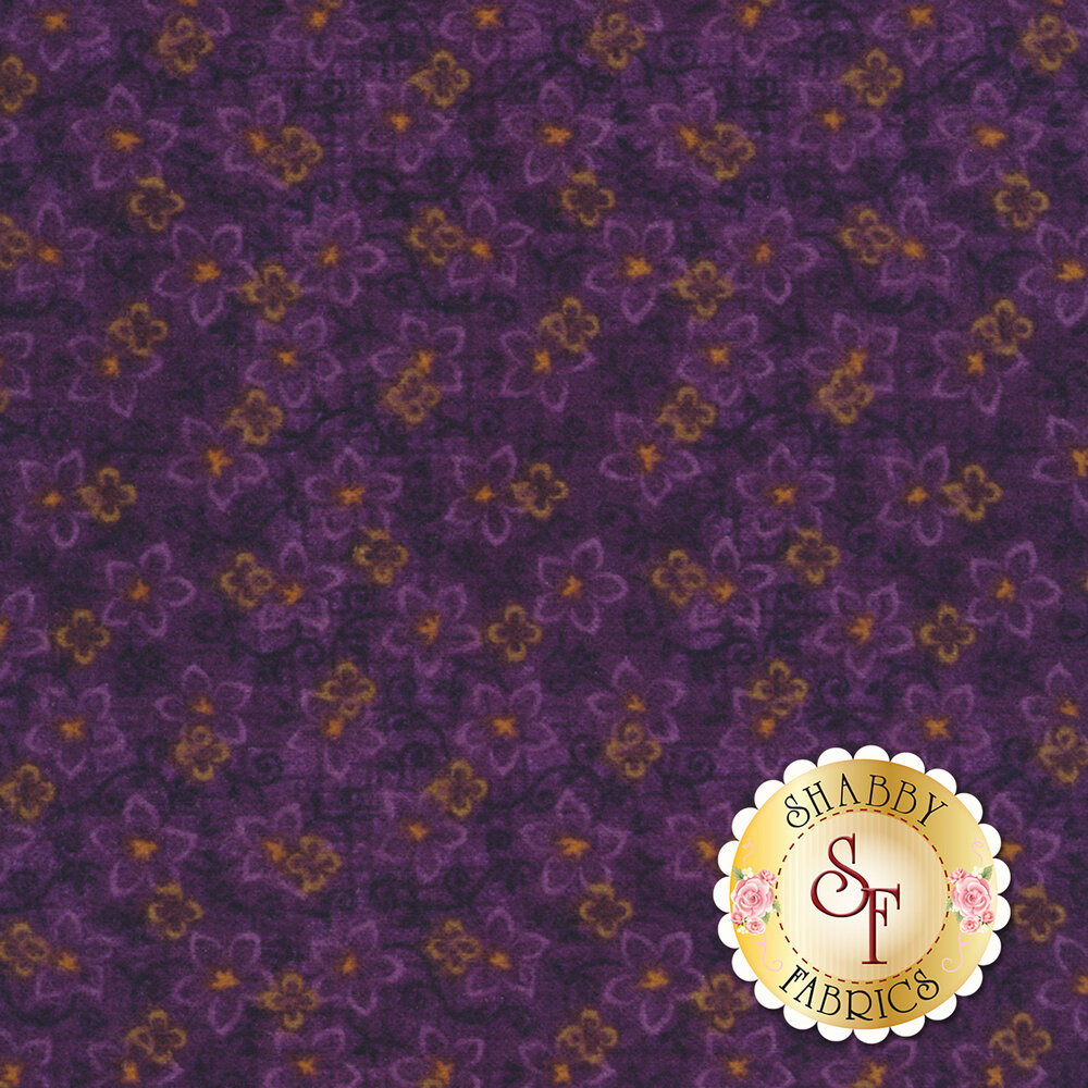 Folk Art Flannel II 2185F-55 by Henry Glass Fabrics available at Shabby Fabrics