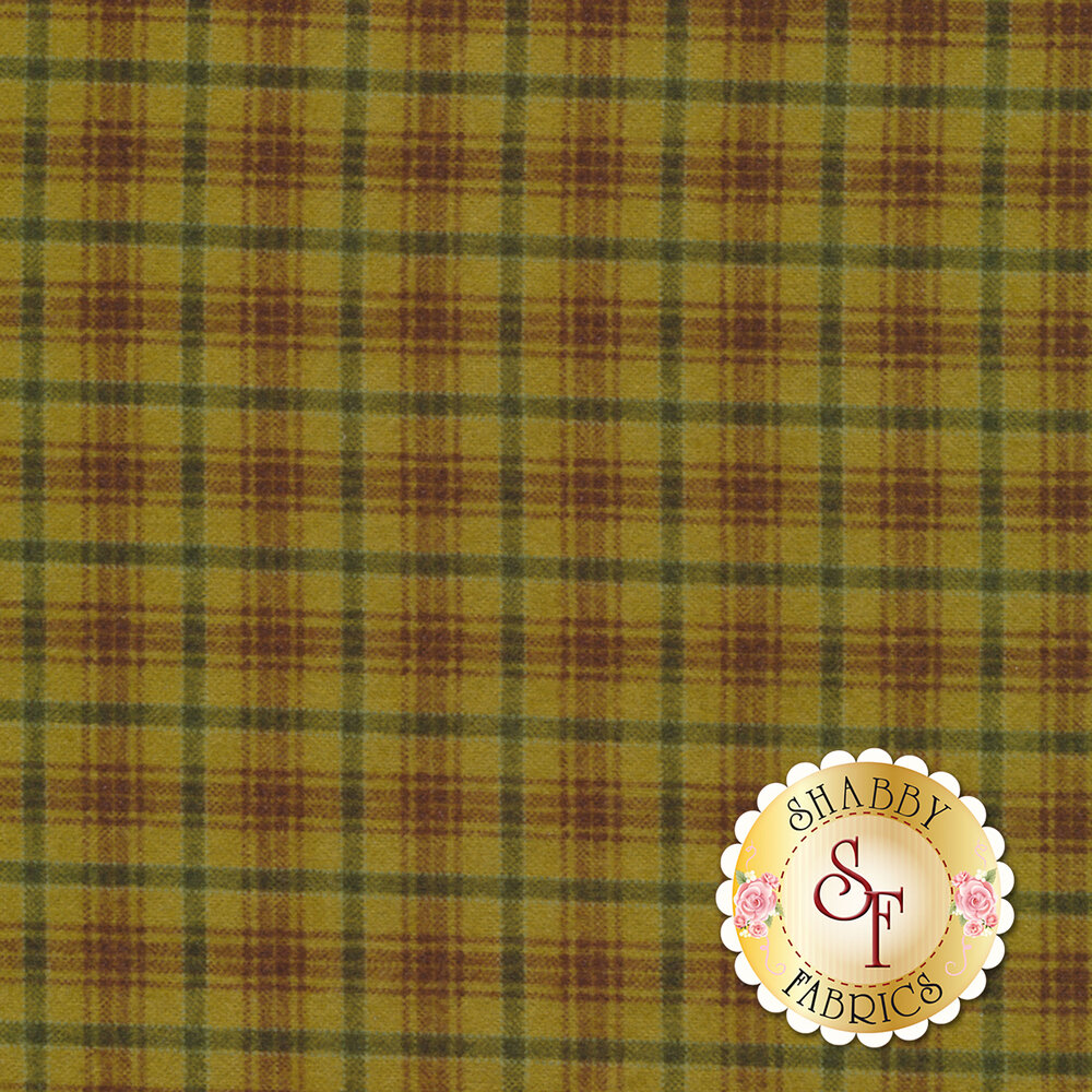Folk Art Flannel II 2186F-66 by Henry Glass Fabrics available at Shabby Fabrics
