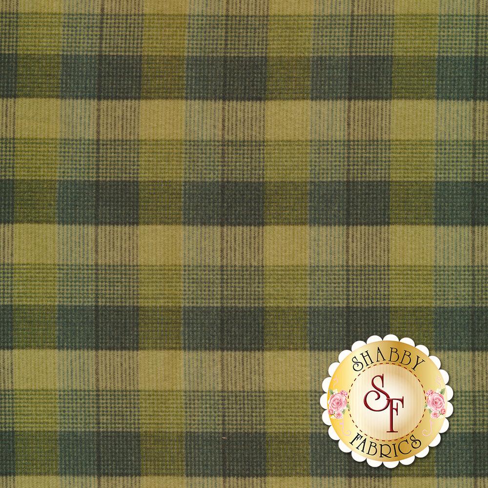 Green plaid design | Shabby Fabrics